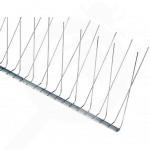 fr nixalite repellent bird spikes e model half 1 2 m - 1, small