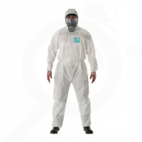 fr ansell microgard protective coverall alphatec 2000 xl - 0, small