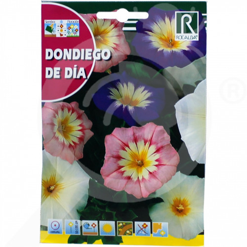 fr rocalba seed morning glory dondiego de dia 10 g - 0, small