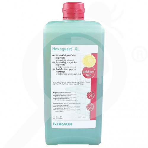 fr b braun desinfectant hexaquart xl 1 l - 2, small