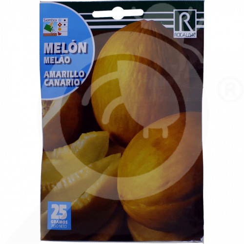 fr rocalba seed cantaloupe amarillo canario 25 g - 0, small