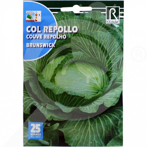 fr rocalba seed cabbage brunswick 25 g - 0, small