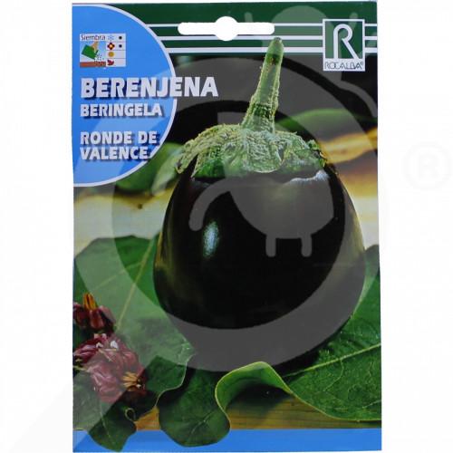 fr rocalba seed eggplant ronde de valence 3 g - 0, small