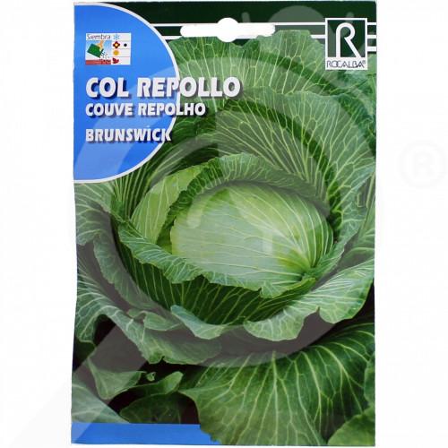 fr rocalba seed cabbage brunswick 8 g - 0, small