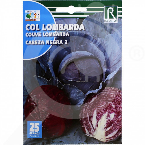 fr rocalba seed red cabbage black cabezza 2 8 g - 0, small