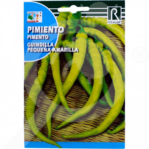 fr rocalba seed hot pepper guindilla pequena amarilla 1 g - 0, small