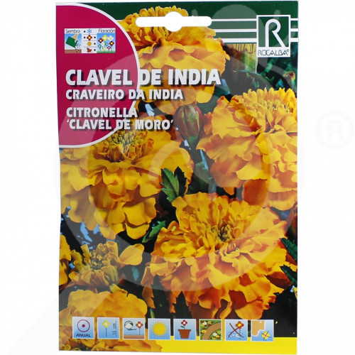 fr rocalba seed citronella clavel de moro 4 g - 0, small