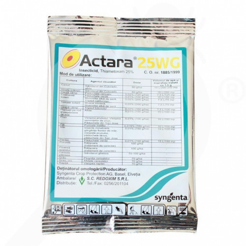 fr syngenta insecticide agro actara 25 wg 4 g - 1, small