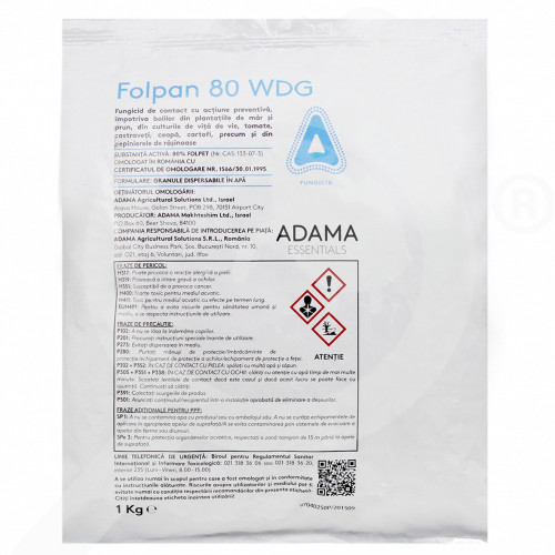 fr adama fungicide folpan 80 wdg 1 kg - 2, small