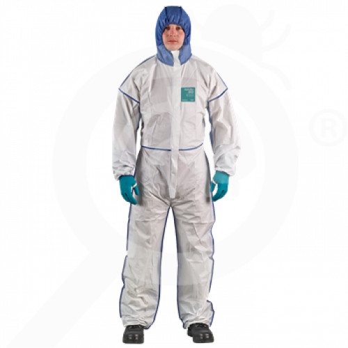 fr ansell microgard coverall alphatec 1800 comfort xxl - 0, small
