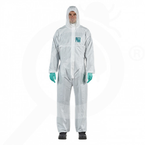 fr ansell microgard coverall alphatec 1800 standard xxl - 0, small