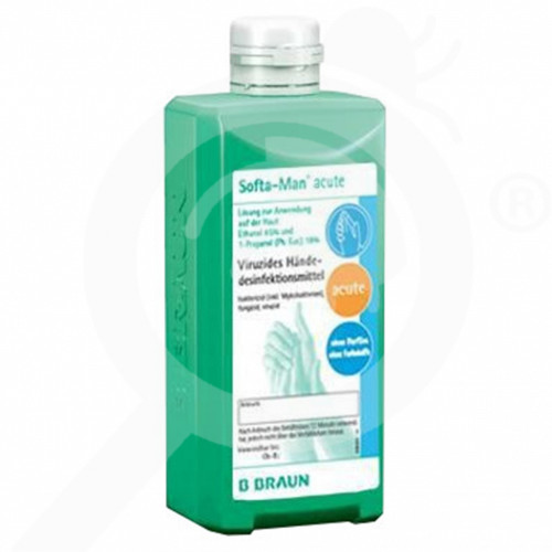 fr b braun desinfectant softa man acute 500 ml - 1, small