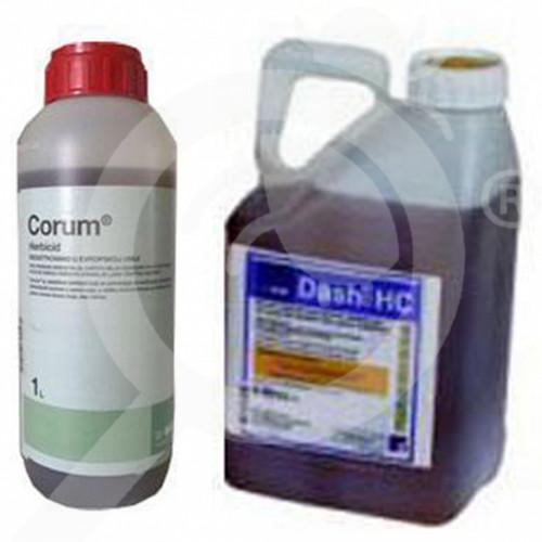 fr basf herbicide corum 10 l adjuvant dash 5 l - 1, small