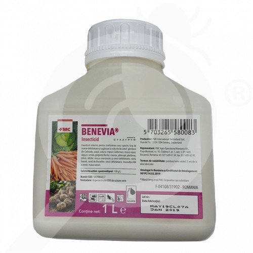 fr fmc insecticide crop benevia 1 l - 1, small