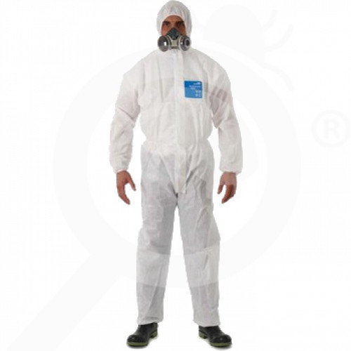 fr ansell microgard coverall alphatec 1800 standard l - 0, small