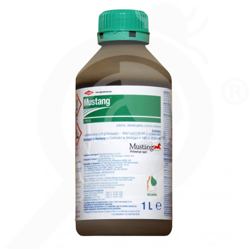 fr dow agro sciences herbicide mustang 1 l - 1, small