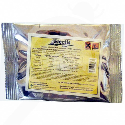 fr dow agro sciences fungicide electis 75 wg 20 kg - 1, small