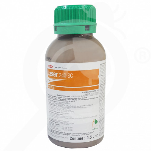 fr dow agro insecticide crop laser 240sc 500 ml - 2, small