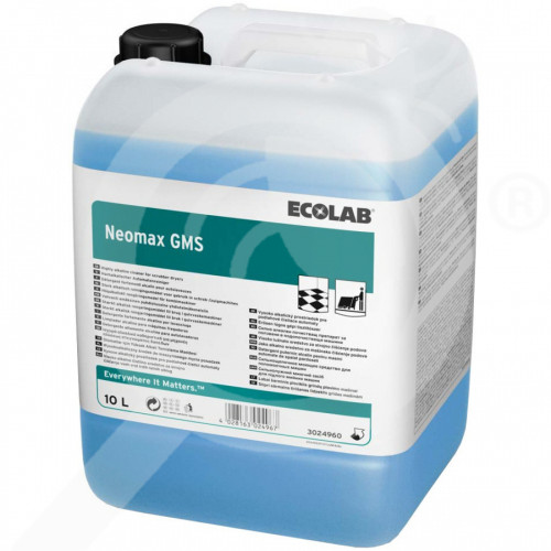 fr ecolab detergent neomax gms 10 l - 1, small