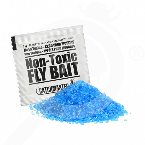 fr catchmaster attractant granular fly bait set of 10 - 0, small