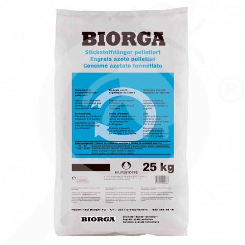 fr hauert fertilizer biorga nitrogen pellet 25 kg - 0, small