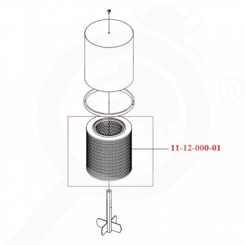 fr igeba air filter tf95 tf160 air filter 11 12 000 01 - 0, small