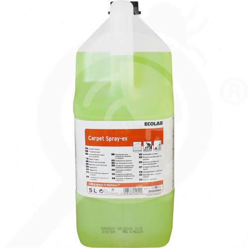 fr ecolab detergent carpet spray ex 5 l - 1, small