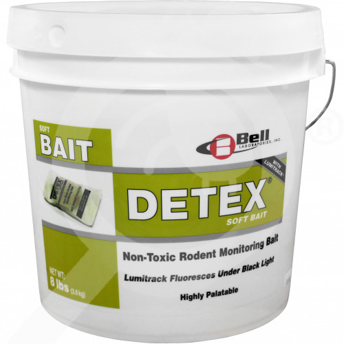 fr bell labs trap detex soft bait 3 6 kg - 2, small