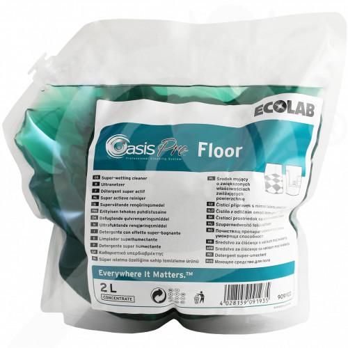 fr ecolab detergent oasis pro floor 2 l - 2, small