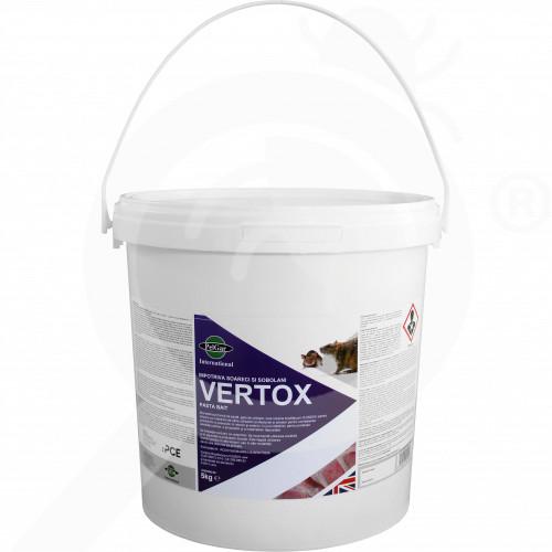 fr pelgar rodenticide vertox pasta bait 5 kg - 1, small