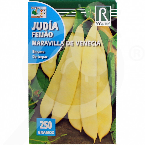 fr rocalba seed yellow beans maravilla de venecia 100 g - 0, small