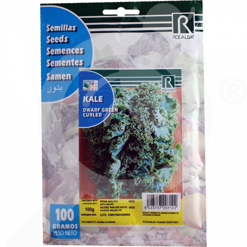 fr rocalba seed green dwarf kale curled 100 g - 0, small
