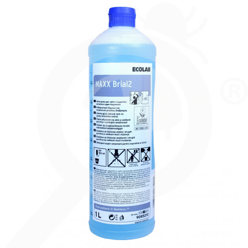 fr ecolab detergent maxx2 brial 1 l - 2, small