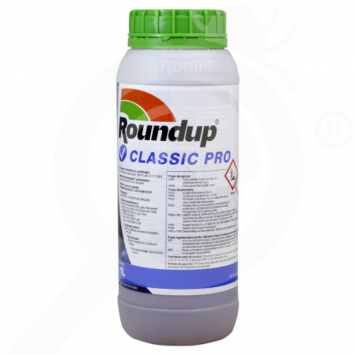fr monsanto herbicide total roundup classic pro 1 l - 1, small