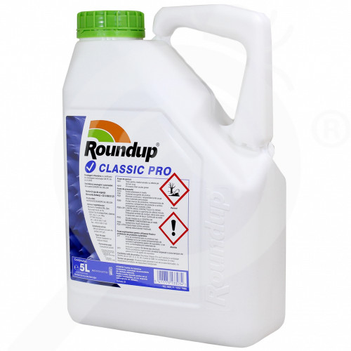 fr monsanto herbicide total roundup classic pro 5 l - 1, small