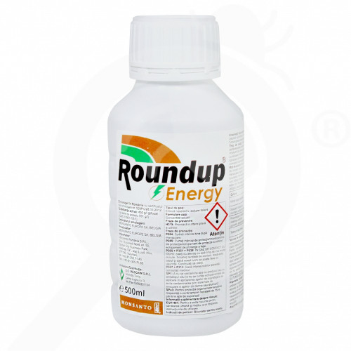 fr monsanto herbicide total roundup energy 500 ml - 1, small