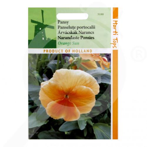 fr pieterpikzonen seeds viola swiss giant orange sun 0 15 g - 1, small