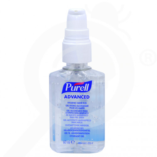 fr gojo disinfectant purell 60 ml - 2, small