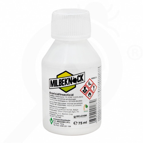 fr sankyo agro insecticide agro milbeknock ec 75 ml - 1, small