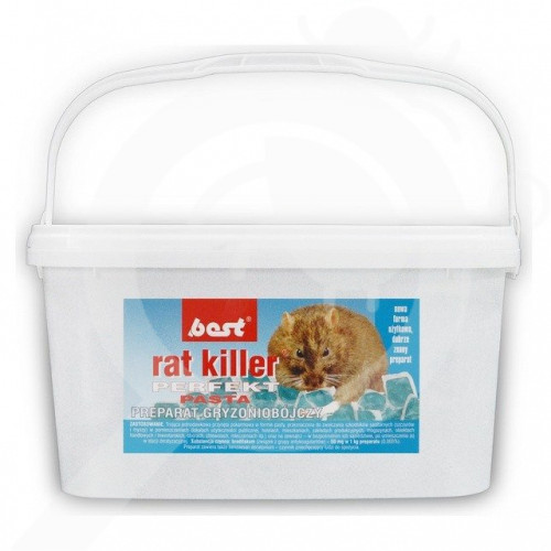 fr best pest rodenticide rat killer perfekt block 5 kg - 0, small