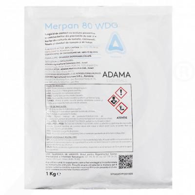 hu adama fungicide merpan 80 wdg 1 kg - 1