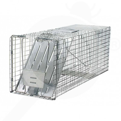 hu woodstream trap havahart 1079 one entry animal trap - 0