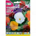 hu rocalba seed pansy gigante riva bella 0 1 g - 0, small