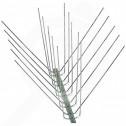 hu nixalite repellent bird spikes e model full 1 2 m - 1, small