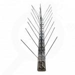 hu repellent bird spikes 64 steel 3 rows - 4, small