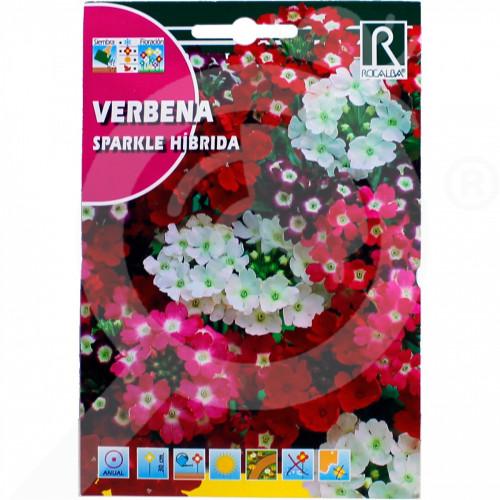 hu rocalba seed verbena sparkle hibrida 0 5 g - 0, small