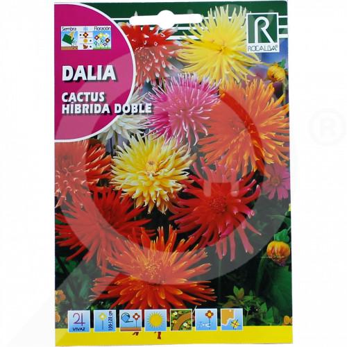 hu rocalba seed dahlia cactus hibrida doble 0 5 g - 0, small