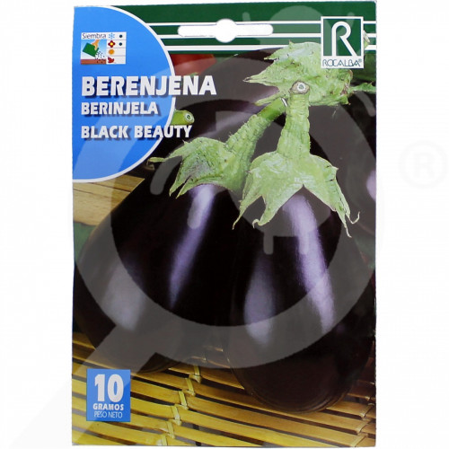 hu rocalba seed eggplant black beauty 10 g - 0, small