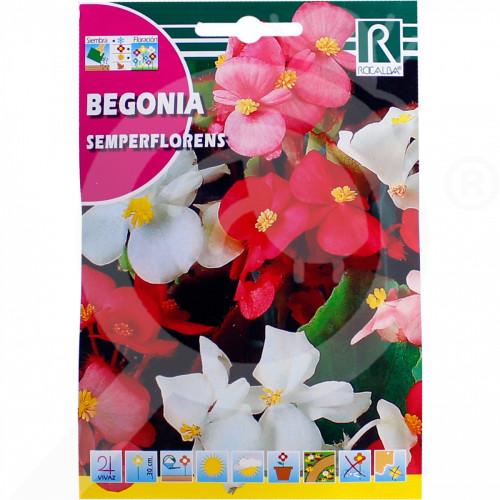 hu rocalba seed begonia semperflorens 0 1 g - 0, small