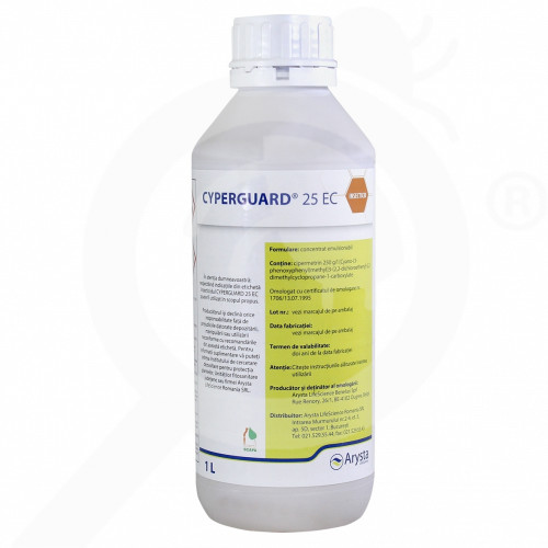 hu agriphar insecticide crop cyperguard 25 ec 1 l - 2, small